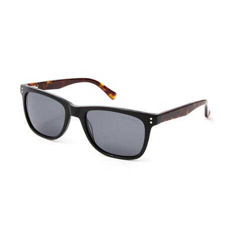 Men's Jerome Square Polarized Sunglasses // Black