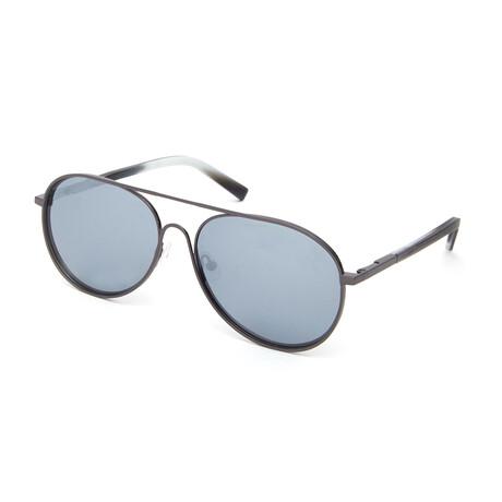 Men's Terrence Aviator Polarized Sunglasses // Dark Gunmetal