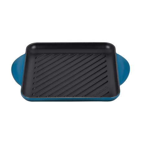 """Square Grill Pan // 9.5"""" (White)"""