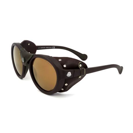 Unisex ML0046-49L Sunglasses // Matte Dark Brown