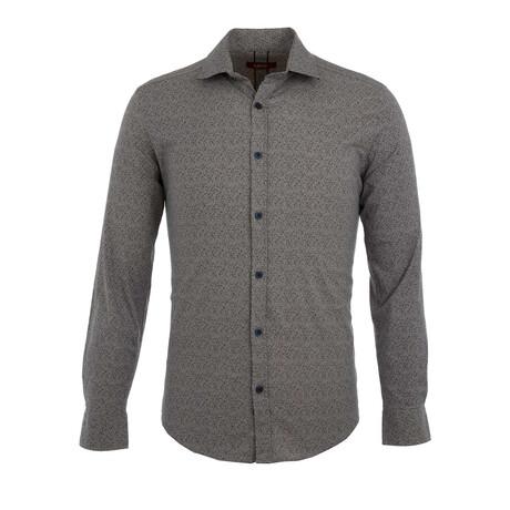 Adam Long Sleeve Button Up Shirt // Beige (S)