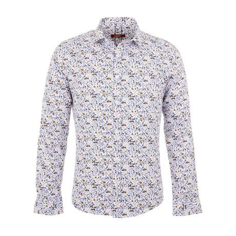 Finn Long Sleeve Button Up Shirt // White (S)