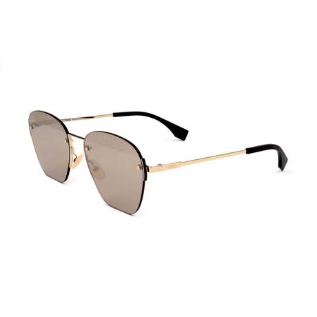Men's M0057 Sunglasses // Gold