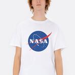 Original NASA Logo Tee // White (Small)