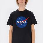 Original NASA Logo Tee // Black (Small)