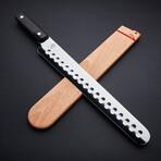 "Classic // Hollow Ground Brisket Knife + Saya // 12"""
