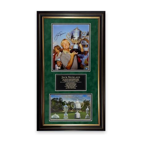 Jack Nicklaus // Signed Photograph + Framed