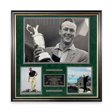 Arnold Palmer // Signed Photograph + Framed