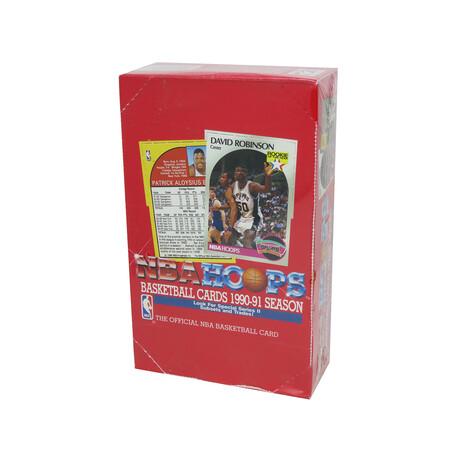 1990-91 Hoops Series 2 Basketball Factory Sealed Unopened Box (FASC) - 36 Packs