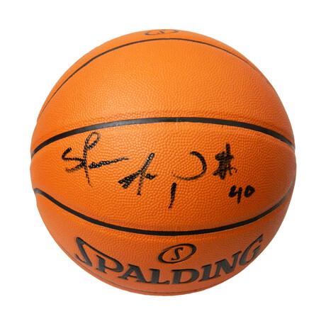 Shawn Kemp Signed Spalding Game Series Replica NBA Basketball