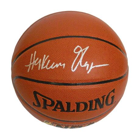 Hakeem Olajuwon Signed Spalding NBA Indoor/Outdoor Basketball