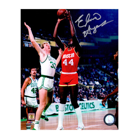 Elvin Hayes Signed Houston Rockets Shooting Action 8x10 Photo