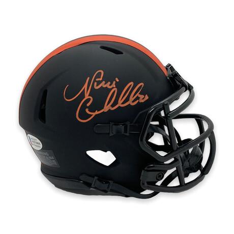 Nick Chubb // Cleveland Browns // Signed Mini Helmet