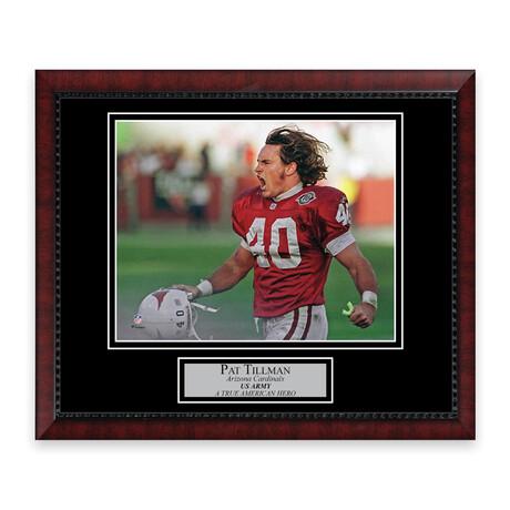 Pat Tillman // Arizona Cardinals // Unsigned Framed Photograph