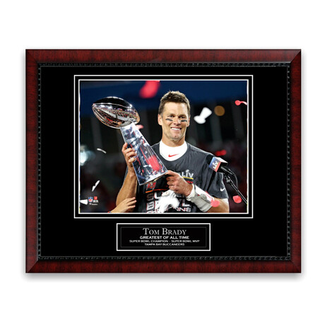 Tom Brady // Tampa Bay Buccaneers // Unsigned Framed Photograph
