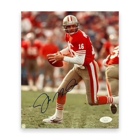 Joe Montana // San Fransisco 49ers // Signed Photograph