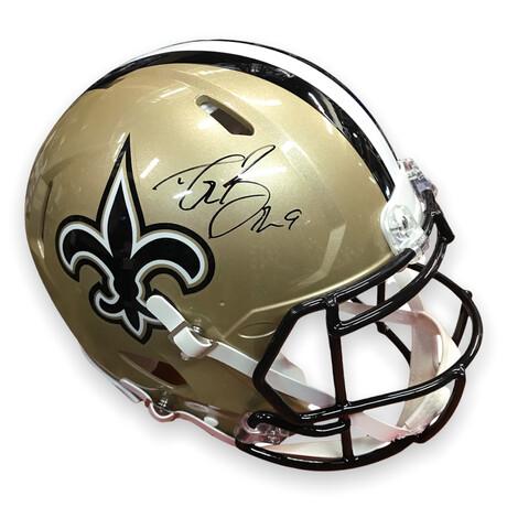 Drew Brees // New Orleans Saints // Signed Replica Helmet