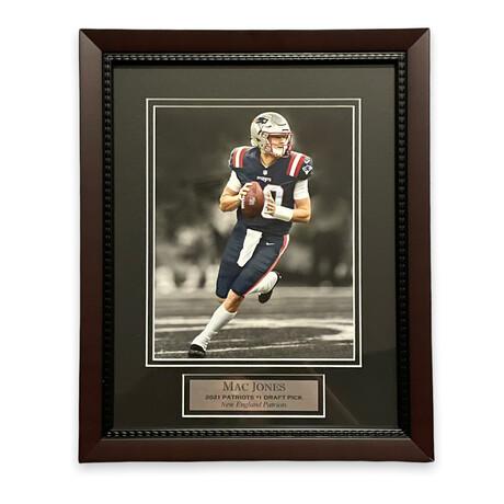 Mac Jones // New England Patriots // Unsigned Framed Photograph