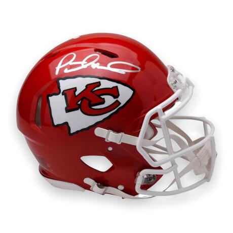 Patrick Mahomes // Kansas City Chiefs // Signed Speed Authentic Helmet