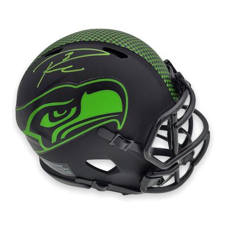 Russell Wilson // Seattle Seahawks // Signed Eclipse Mini Helmet