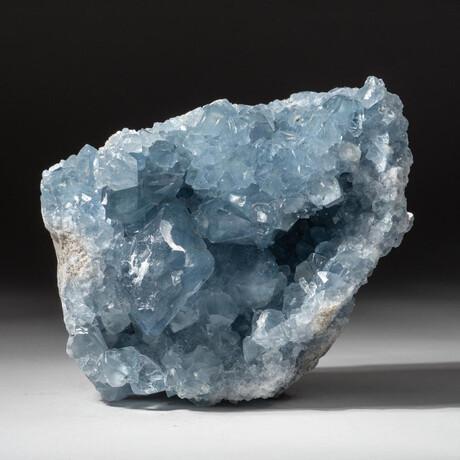 Genuine Blue Celestite Geode