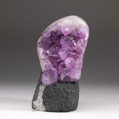 Genuine Amethyst Clustered Geode V2