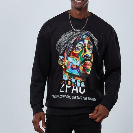 2Pac Sweatshirt V1 // Black (S)