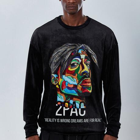 2Pac Sweatshirt V2 // Black (S)