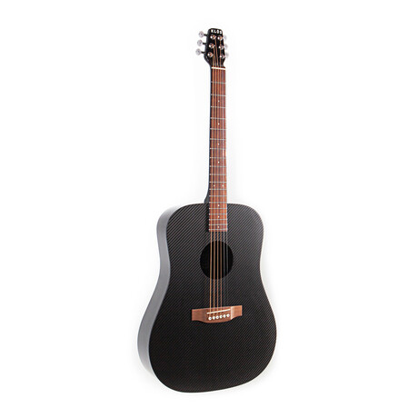 KLOS Hybrid Acoustic Electric Full Size Guitar