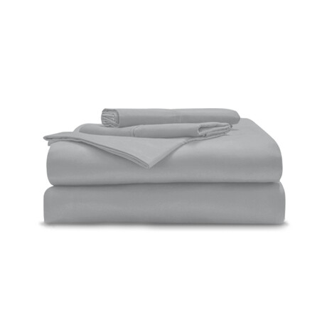 Copper-Infused Sheet Set // Gray (Twin)