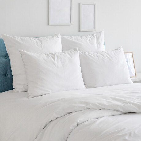 Copper-Infused Sheet Set // White (Twin)