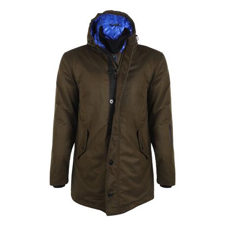Myles Winter Coat // Olive (S)