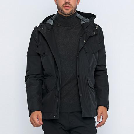 Kevin Utility Jacket // Black (S)