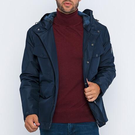 Nico Utility Jacket // Navy (S)