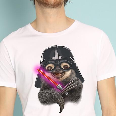 Darth Sloth T-Shirt // White (Small)