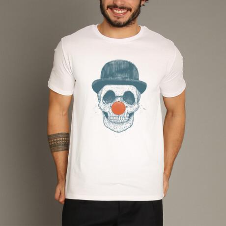 Dead Clown T-Shirt // White (S)