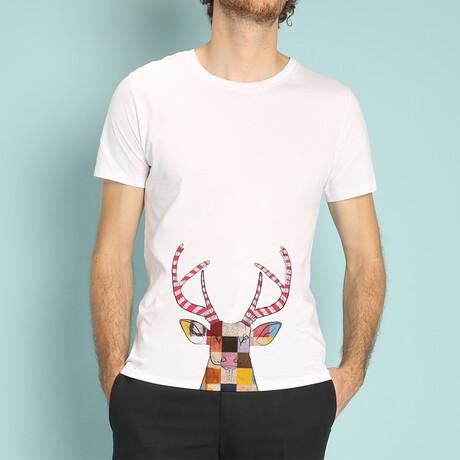 Oh My Deer T-Shirt // White (S)