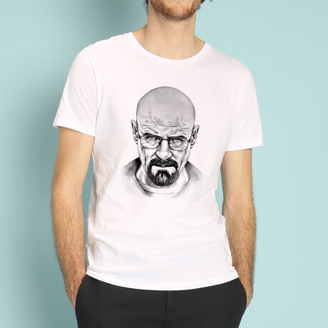 Walter White T-Shirt // White (S)