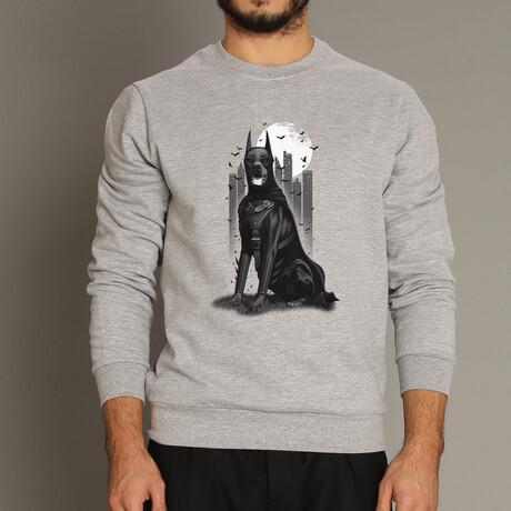 Doberman Sweatshirt // Gray (S)