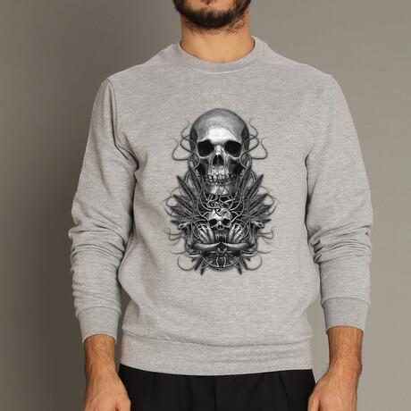 Beast Sweatshirt // Gray (S)