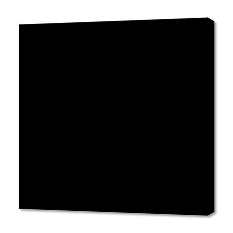 """Black (12""""W x 12""""H x 0.75""""D)"""