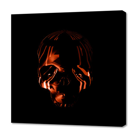 """Too Late For Halloween (12""""W x 12""""H x 0.75""""D)"""