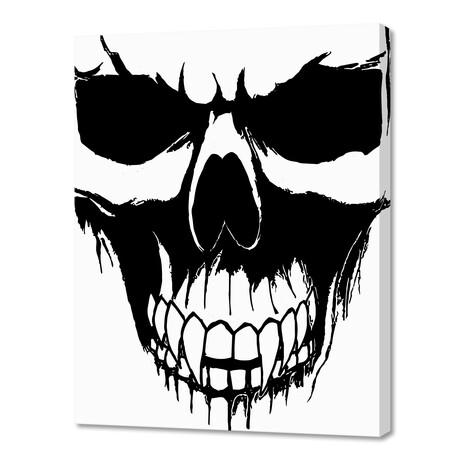 """Skull 2 (8""""W x 10""""H x 0.75""""D)"""