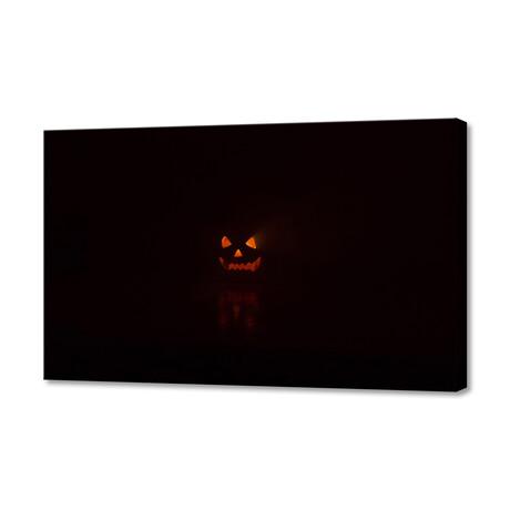 """Halloween Pumpkin (12""""W x 8""""H x 0.75""""D)"""