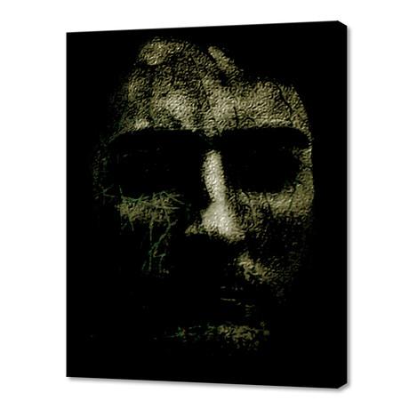 "Creepy Halloween Human Head (8""W x 10""H x 0.75""D)"