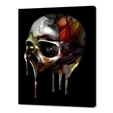 "Syrupy Skull (8""W x 10""H x 0.75""D)"
