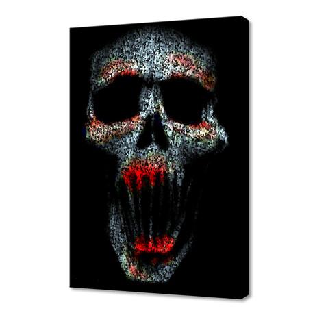 """Skull 1 (8""""W x 12""""H x 0.75""""D)"""