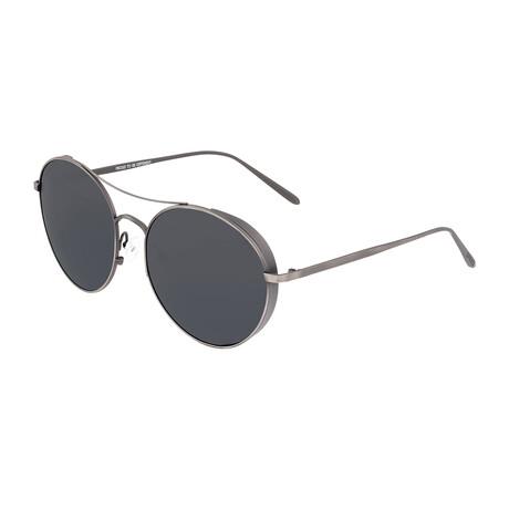 Barlow // Titanium Polarized Sunglasses // Gunmetal Frame + Black Lens