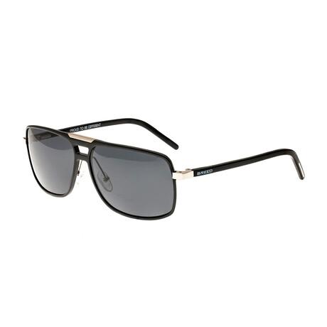 Retrograde Polarized Sunglasses // Black Frame + Black Lens
