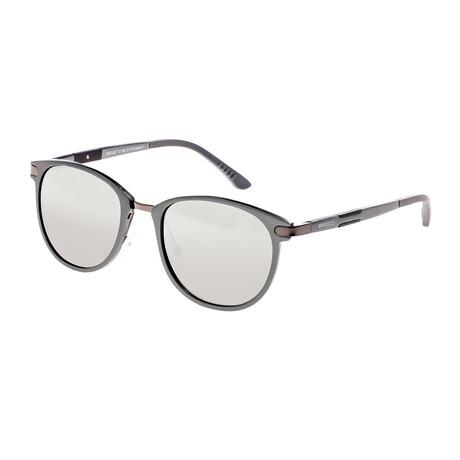 Orion Polarized Sunglasses // Gunmetal Frame + Silver Lens